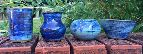 Aramont blue glaze